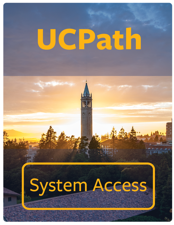 UCPath System Access